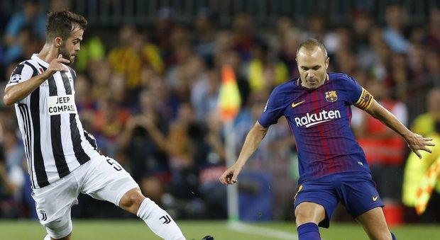 Troppo Messi per la Juventus: il Barcellona cala il tris alla prima