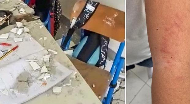 Crolla il solaio in classe, ?bimbo di 9 anni ferito nel Napoletano