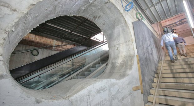 Napoli stazione di Chiaia linea 6 della metropolitana aprira nel 2019