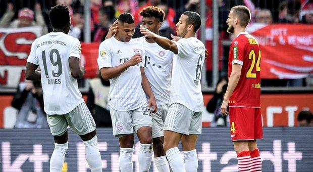 Il Bayern travolge il Colonia 4-1 e torna in vetta alla Bundesliga