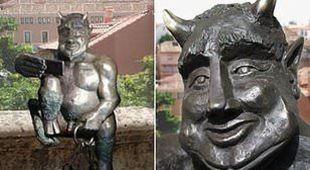 Vade retro Satana: Segovia boccia la statua