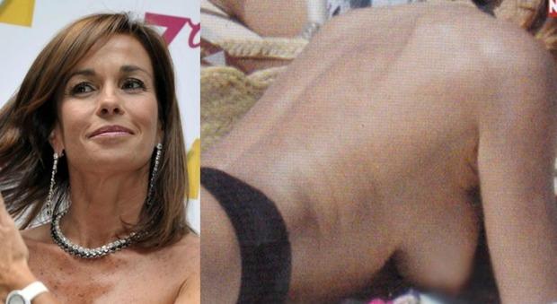 parodi hot a formentera topless e lato b da urlo il mattino