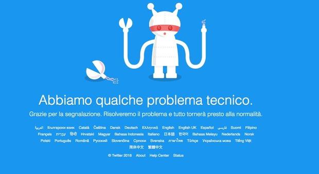 Twitter down, non funziona dalle 16: ecco cosa sta succedendo