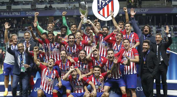 La Supercoppa &egrave; dell&rsquo;Atletico:<br /> il Real Madrid si arrende senza CR7