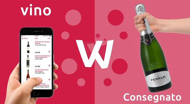 Winelivery, l?app per bere sbarca a Napoli e conquista il golfo in 30 minuti
