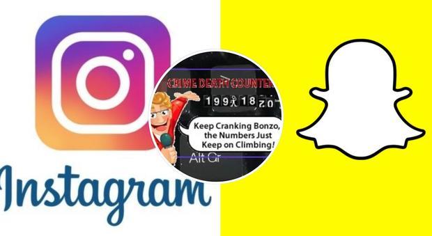 Instagram e Snapchat senza gif per alcuni giorni: ecco cos'è successo