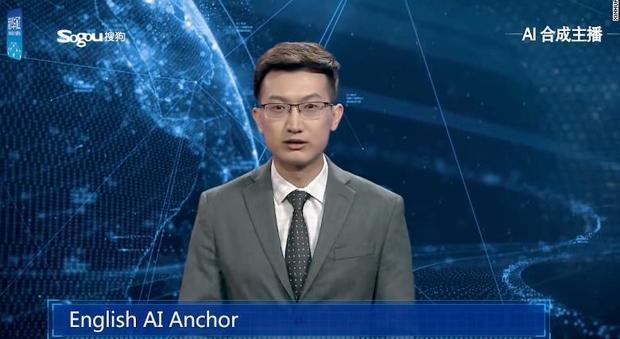 Il primo giornalista televisivo virtuale: lavora sempre e non sbaglia mai, però è noioso