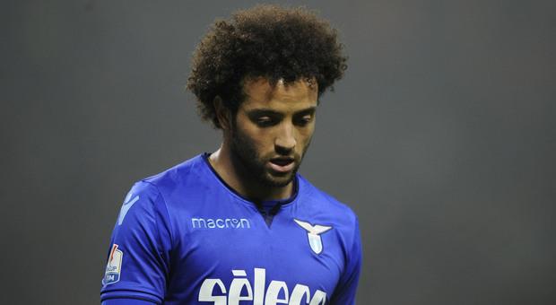 Lazio, Lotito a colloquio con la squadra: Felipe Anderson si allena da solo