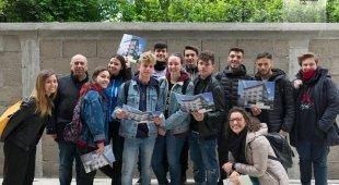 Scuola, al Masullo-Theti tour didattico sui cantieri