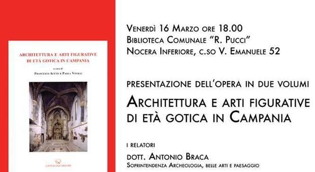 A nocera inferiore si discute di architettura gotica in for Casa di architettura gotica