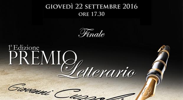 Premio Letterario Giovanni Cuzzolin, la finale della prima edizione