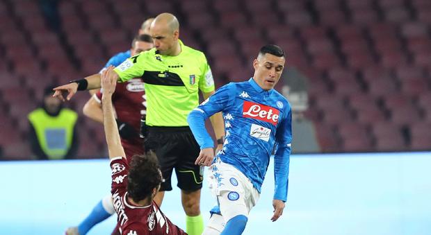 Napoli-Torino, le immagini del match (Newfotosud)