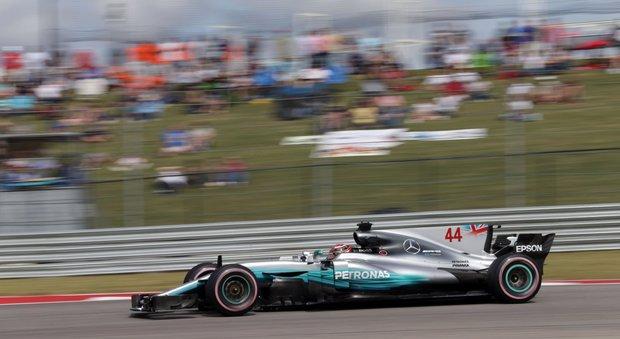 ?Gp Austin, Hamilton domina le libere: la Ferrari di Vettel è seconda