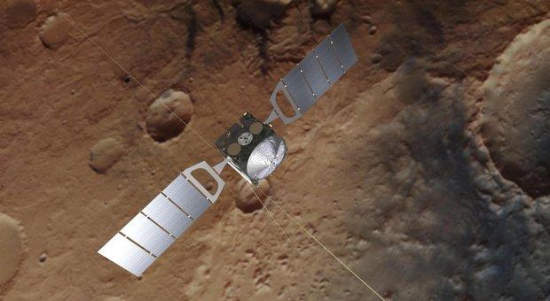 Il radar italiano Marsis che ha scoperto il lago salato