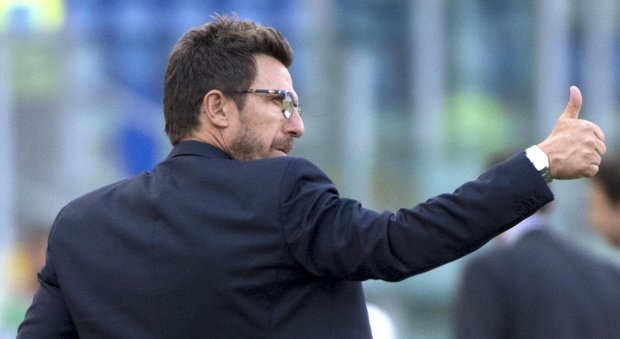 Di Francesco gioca Roma-Napoli:  «Difficile ma sarà una gran partita»