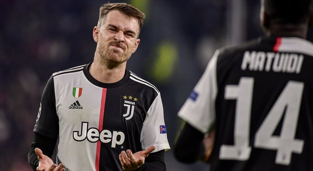 Juventus, problema muscolare per Ramsey: salterà la Lazio