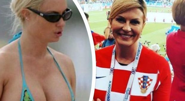 Kolinda, la presidente della Croazia supersexy: il décolleté esplosivo fa impazzire i fan