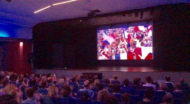 Festa al Grenoble per il trionfo mondiale