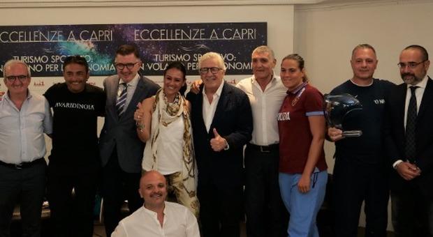 «Lo sport non sia un lusso ma un diritto»: la proposta di Giusy Versace a Capri