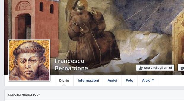 San Francesco ti chiede l'amicizia su Facebook. E c'è anche il profilo Instagram