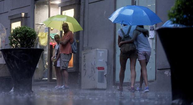 Il maltempo ritorna in Campania: temporali e raffiche di vento