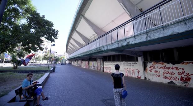 Napoli, l'assessore Borriello riapre lo stadio Collana: «Incontro la Regione»
