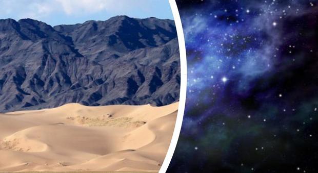 Il teletrasporto è realtà: ecco il primo oggetto inviato dal deserto allo spazio