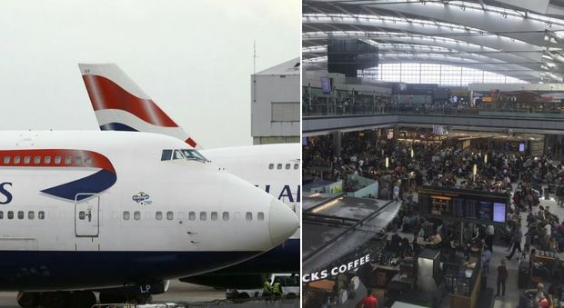 British Airways, aerei ancora a terra