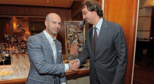 Il maestro ferrigno inaugura la mostra dei presepi a roma for Casa artigiana progetta il maestro del primo piano
