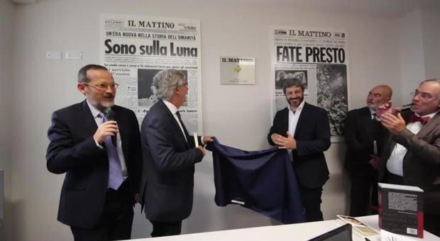 Napoli, inaugurata la nuova sede de Il Mattino intitolata a Giancarlo Siani