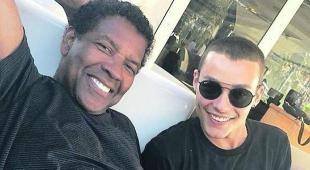Denzel Washington a Positano,  vacanze a tutto relax