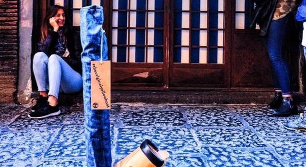 Timberland sceglie Napoli, originale trovata pubblicitaria nei vicoli del centro storico