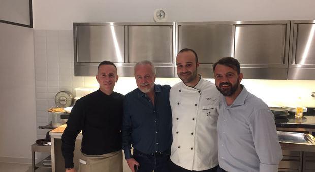 De Laurentiis, relax in Costiera con serata gourmet ad Amalfi