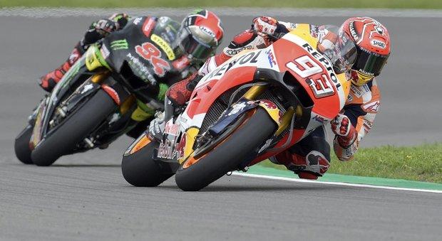 Germania, Marquez vince davanti a Folger e Pedrosa: Valentino è quinto