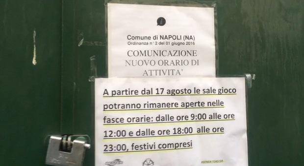 Napoli, in piazza gestori sale gioco «Noi chiudiamo, si gioca fuori città»
