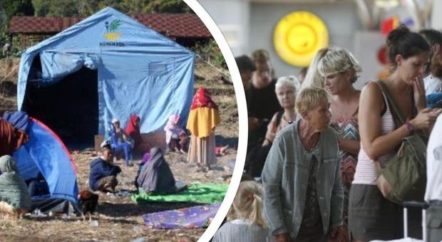 Indonesia, 142 morti per il terremoto. Turisti in fuga: in 900 stanno lasciando gli hotel