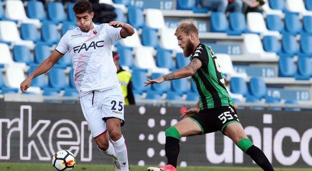 Okwonkwo regala il successo al Bologna nel derby contro il Sassuolo