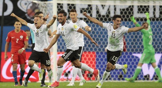 Confederations Cup, Germania campione battuto il Cile per 1-0. Decide Stindl
