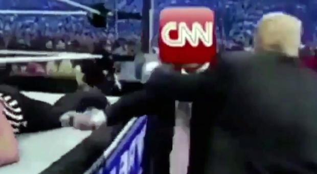 Trump, la ?rissa? con Cnn e i pugni alla democrazia