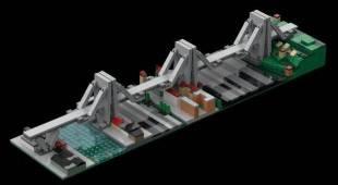 Il Ponte Morandi diventa una costruzione Lego: l'idea macabra scatena la bufera