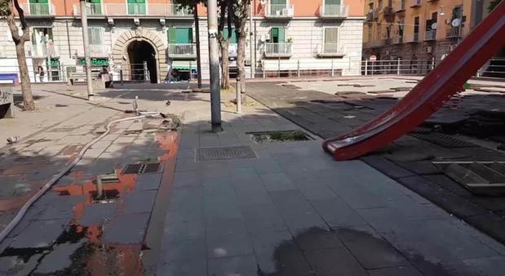 Napoli Viaggio Nel Degrado Di Via Foria Gli Alberi Arrivano Fin Dentro Casa Il Mattino It