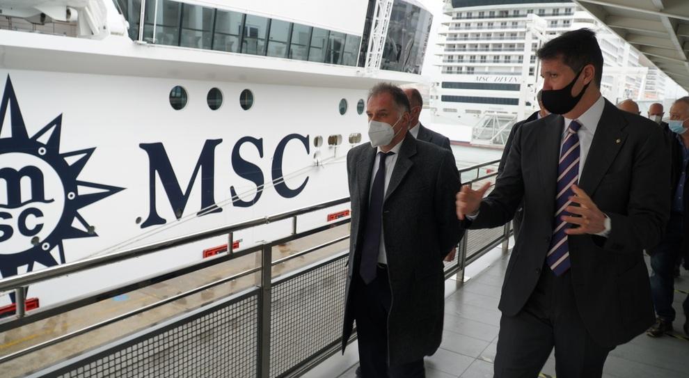 Msc, navi da crociera Covid free: la «bolla» funziona, il sistema sarà  esteso anche agli alberghi - Il Mattino.it