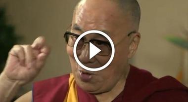 Il Dalai Lama Alla Tv Inglese Imita Trumpe Parla Di Pitt Jolie E Kardashian Il Mattino It
