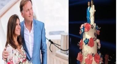 Espen Oeino e Sabrina Monteleone scelgono la torta made in
