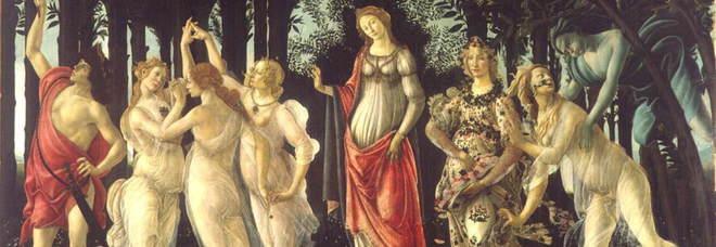 L'allegoria della Primavera di Botticelli