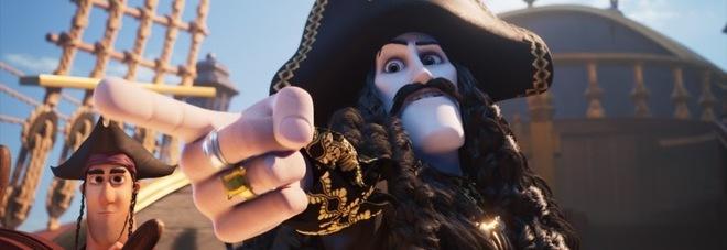 Giffoni, in anteprima il film d'animazione «Capitan Sciabola e il diamante magico»