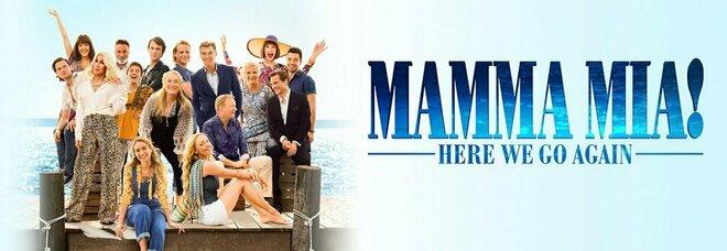 Stasera in tv su Canale 5 Mamma mia! Ci risiamo