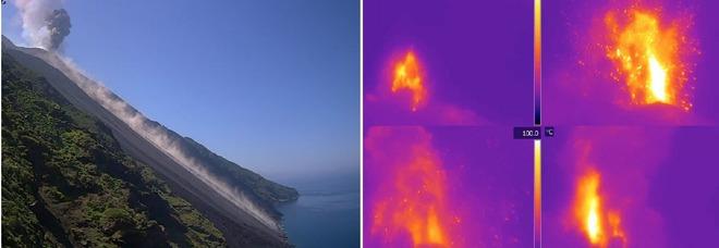 Stromboli, forte esplosione nel cratere Eoliano: eruzione avvertita dagli abitanti (LGS - Laboratorio Geofisica Sperimentale)