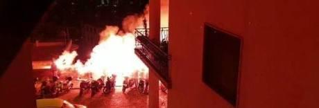 Napoli, è caos movida al Vomero: dopo i fumogeni scattano le denunce