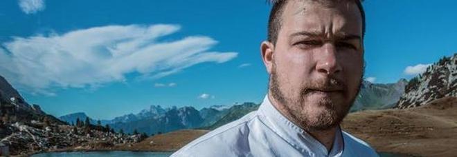 Lo chef stellato più giovane Matteo Metullio lascia i fornelli per stare con il figlio